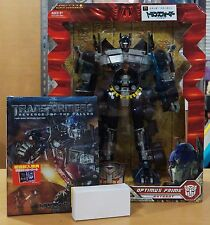 MISB Transformers Amazon Ex Revenge of the Fallen ROTF Black Optimus Prime
