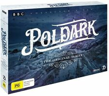 POLDARK: Original Series Season 1+2 DVD TV SERIES BRAND NEW RELEASE 7-DISCS R4