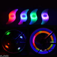 Bike Bicycle Cycling Wheel Spoke Tire Wire Tyre LED Light Lamp 4 Colors
