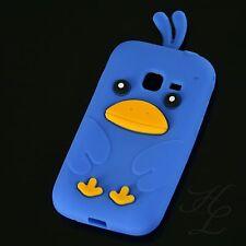 Samsung Galaxy Ace duos s6802 silicona, funda protectora, estuche, Chicken azul, funda