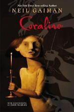 Coraline by Neil Gaiman (2002) With Illustrations By Dave McKean