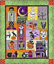 EEEEK! HALLOWEEN QUILT PATTERN, BOM Applique From The Vintage Spool NEW