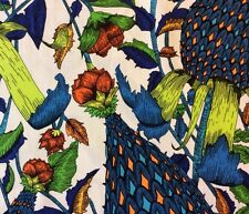 RPG173  Exotic Fruit Jungle Tropical Hawaii Neon Floral Cotton Quilt Fabric