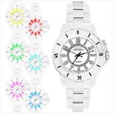 Orologio uomo bianca Led (RETROILLUMINAZIONE : 8 colori) TOP MODA