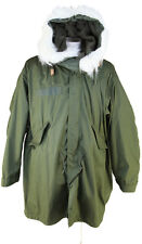 FISHTAIL M65  PARKA NEW Genuine USA Military Hood Liner Unworn Size XS OD Olive