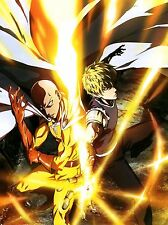 """One Punch Man Poster Japan Anime Art Silk Posters Wall Decor Prints 12x16"""" OPM5"""