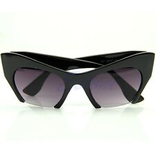 Sexy Women Fashion Shades Leopard Pink Cat Eye Sunglasses Retro Vintage Designer