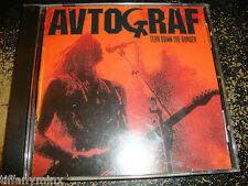 AVTOGRAF cd TEAR DOWN THE BORDER free US shipping