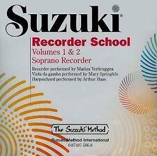 Suzuki Recorder School (Descant) - Volume 1 & 2 (CD) ALF0566