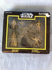 STAR WARS DIECAST KEYCHAIN SET BUNDLE METAL FIGURINE DARTH VADER SKYWALKER R2D