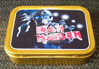 Iron Maiden-b- 1 and 2oz Tobacco/Storage Tin