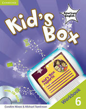 Kid's Box American English Level 6 Workbook with Cd-rom by Michael Tomlinson,...