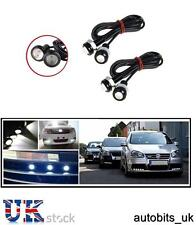4x 12V 10W LED EAGLE EYE DAYTIME RUNNING DRL WHITE LIGHT BACKUP CAR MOTORCYCLE