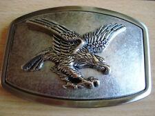 Famous Eagle Silver Color  Belt Buckle