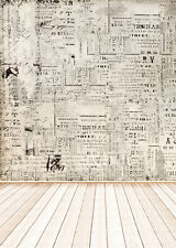 Photography Backdrops Photo Props Studio Background Wall Wood Floor vinyl 5x7ft