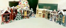 Shelia's Collectibles – 1991 Dickens LOT Christmas Carol Village Limited Edition