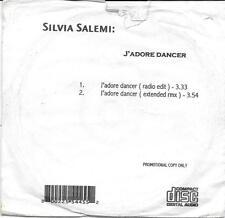 """SILVIA SALEMI - RARO CDs PROMO """" J'ADORE DANCER """""""