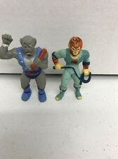 Vintage 1985 Thundercats Tygra Mini PVC  Panthro Action Figures