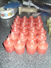 Partylite GRAB BAG 24 WATERMELON VOTIVES