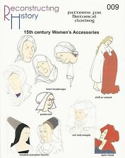 Schnittmuster RH 009 Paper pattern 15th Century Women's Accessories