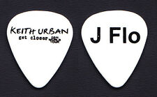 Keith Urban Jerry Flowers White Guitar Pick - 2011 Get Closer Tour