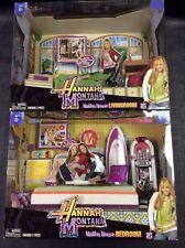 Disney Hannah Montana Malibu Beach House living room bedroom Playsets New Sealed