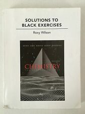 Solutions to Black Exercises Chemistry The Central Science Book by Roxy Wilson
