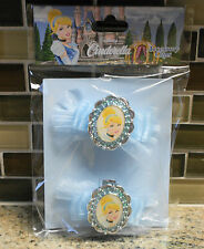 New Walt Disney World Parks CINDERELLA Costume Accessory Clips for Shoes Hair