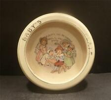 Roseville Nursery Rhyme Rolled Edge Plate With Tom The Piper's Son -  MINT