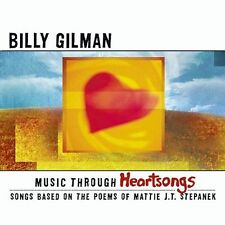 RARE NEW Sealed BILLY GILMAN Music Through Heartsongs CD The Voice