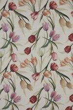 Traumhafter Gobelin mit Tulpen, Reststück, ca. 49x140 cm