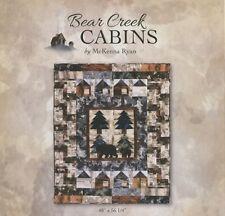 McKenna Ryan BEAR CREEK CABINS BCC01 Pattern - FREE US SHIPPING