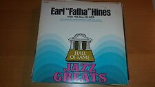 "Earl ""Fatha"" Hines-& His All Stars-LP-Hall of Fame-VG+"