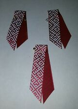 Latvia Latvian Lettland Patriotic Flag Karogs ribbon Pin Badge X3