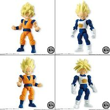 Dragonball Kai 66 action SS Goku Vegeta Trunks Gohan 4 figure set Bandai