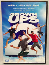 Grown Ups 2 (DVD, 2013) Widescreen, Adam Sandler, Kevin James, Chris Rock