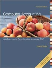 Computer Accounting with Peachtree by Sage Complete Accounting 2010, Yacht, Caro