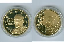 Grèce 50 Cent 2012 PP Seulement 2.500 Pièce