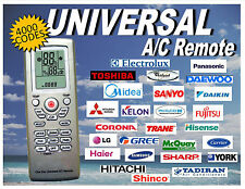 Universal A/C AC Remote Control With 4000 Thousand Codes. Fast USA Shipper!