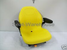 HIGH BACK SEAT JOHN DEERE Z TRAK,M655,M665,717A,727A ZERO TURN MOWERS ZTR #LS