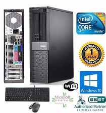 Dell OptiPlex PC COMPUTER DESKTOP 1TB Intel 3.00Ghz 4GB RAM Windows 10 PRO 32BIT