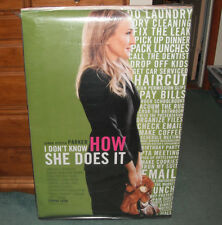 I Don't Know How She Does It Sarah Jessica Parker Movie Poster 27 X 40