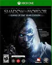 NEW Middle Earth: Shadow of Mordor Game of the Year - Xbox One