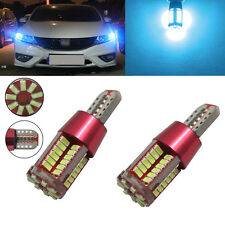 2xT10 SMD57 LED Rear Side Bulb Canbus Error Free White parking for  Land Cruiser