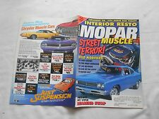 MOPAR MUSCLE--DECEMBER/JANUARY,1994--MAGAZINE