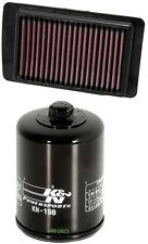 K&N Motorcycle Air Filter + Oil Filter Combo PL-1608 + KN-198
