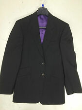 Paul Smith 'Byard' Suit Jacket, 38 Chest, Wool Blazer, Black with Purple Lining