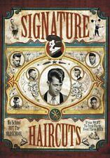 "TARGA VINTAGE ""SIGNATURE HAIRCUTS BARBER"" Pubblicità, ADVERTISING,POSTER,PLATE"