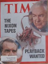TIME MAGAZINE JULY 30 1973 THE NIXON TAPES PLAYBACK WANTED
