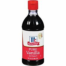 New  16 oz McCormick Pure Vanilla Extract (16 oz.) Exp 4/7/2019  L60